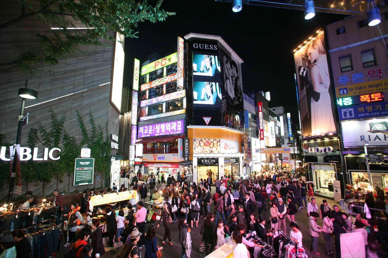 ソウルのショッピングスポット 明洞