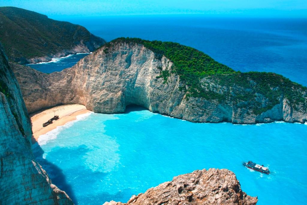 Die schönsten Strände Griechenlands: Strand von Navagio, Insel Zakynthos