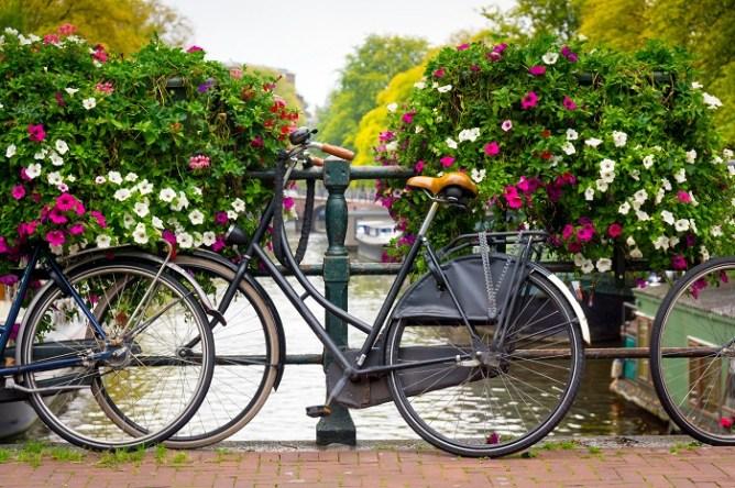 Qué hacer en Ámsterdam: alquilar una bicicleta