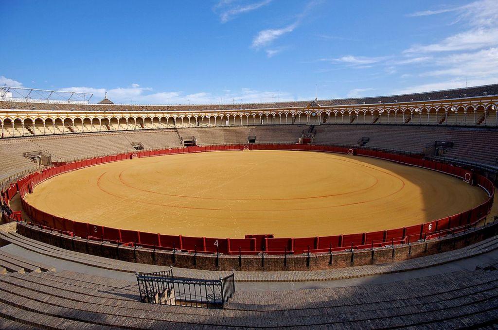 Osuna bullring in Plaza de Toros, Andalusia