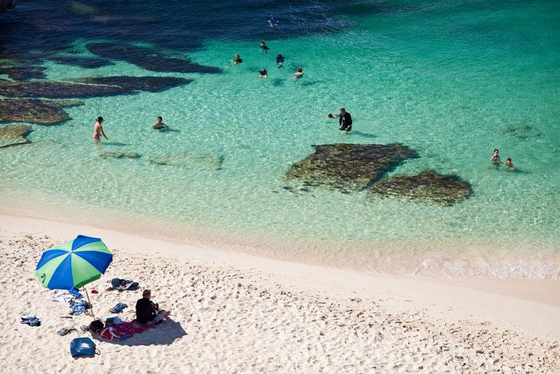Heavenly sands in Australia's Rottnest Island