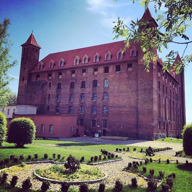 Gniew to jedno z najbardziej uroczych miast w Polsce