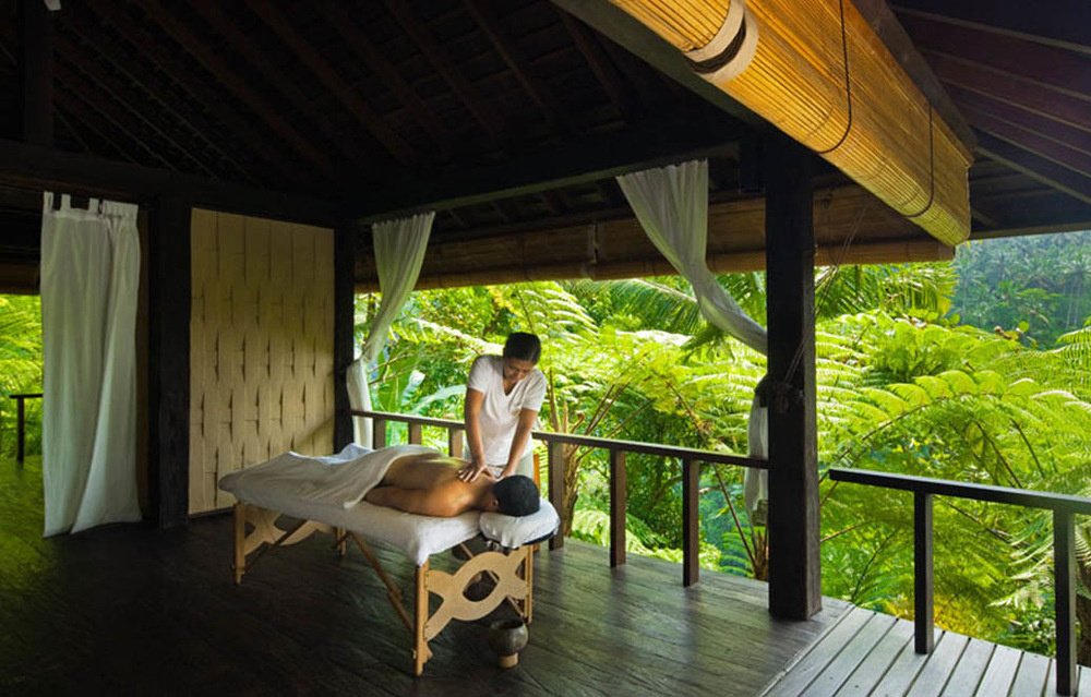 Have a massage in Bali, Indonesia