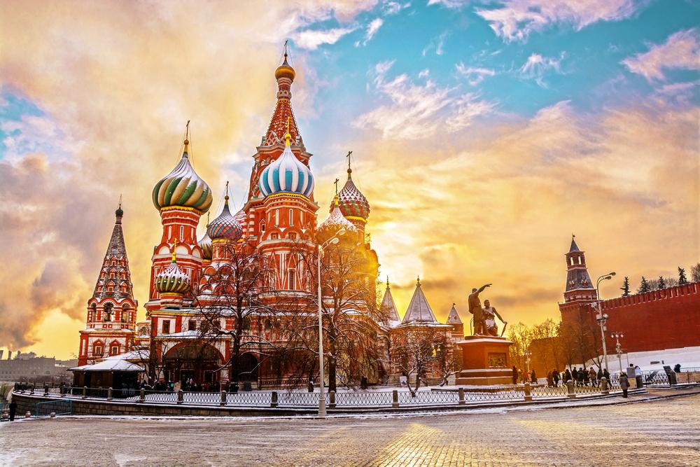 Зимняя Москва — авиабилеты на Новый год