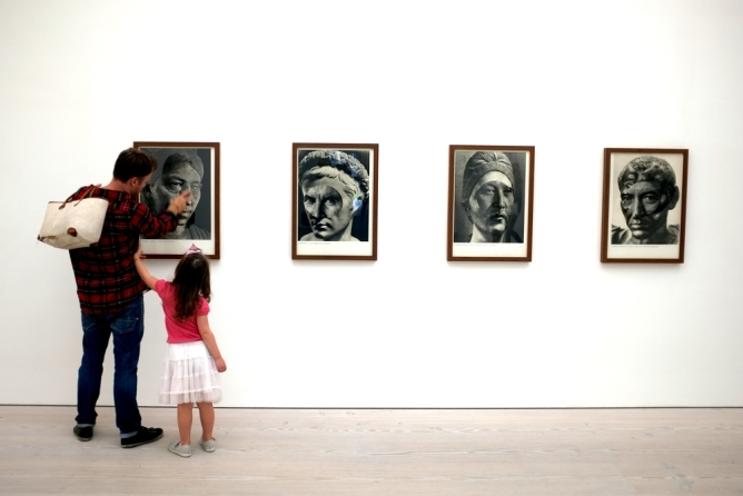 La galerie d'art Trem à Faro