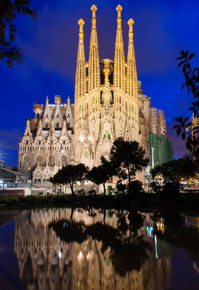 Η Σαγράδα Φαμίλια του Γκαουντί στη Βαρκελώνη