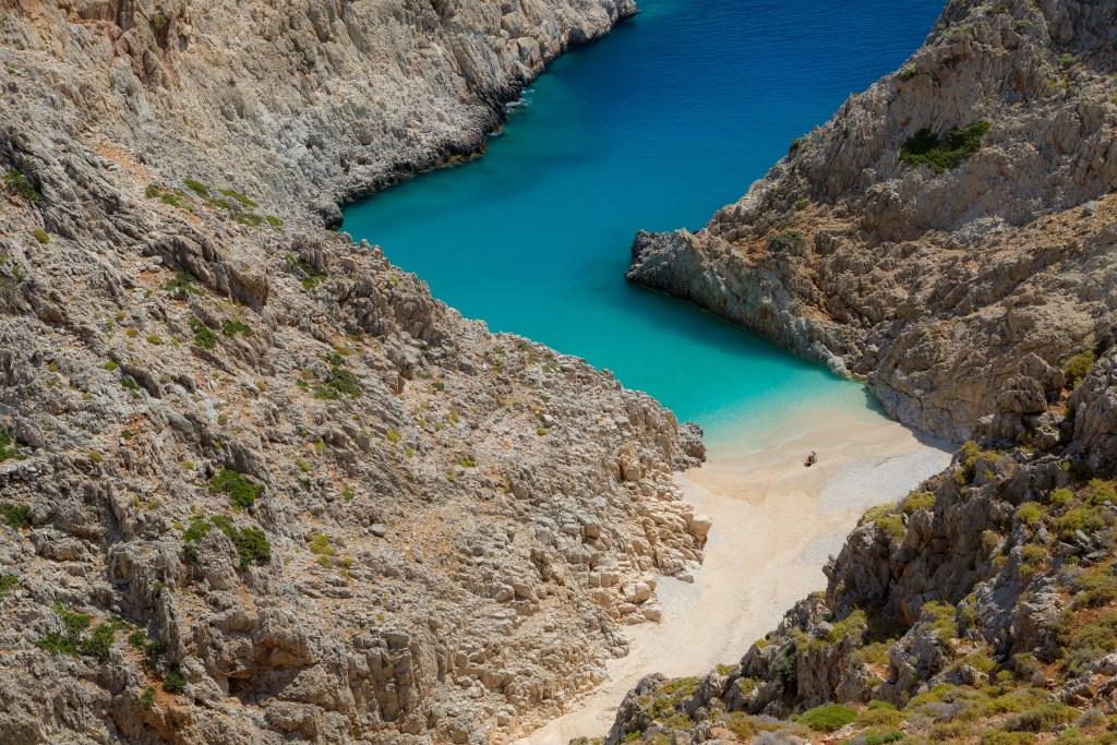 Крит, пляж Лимани, Греция