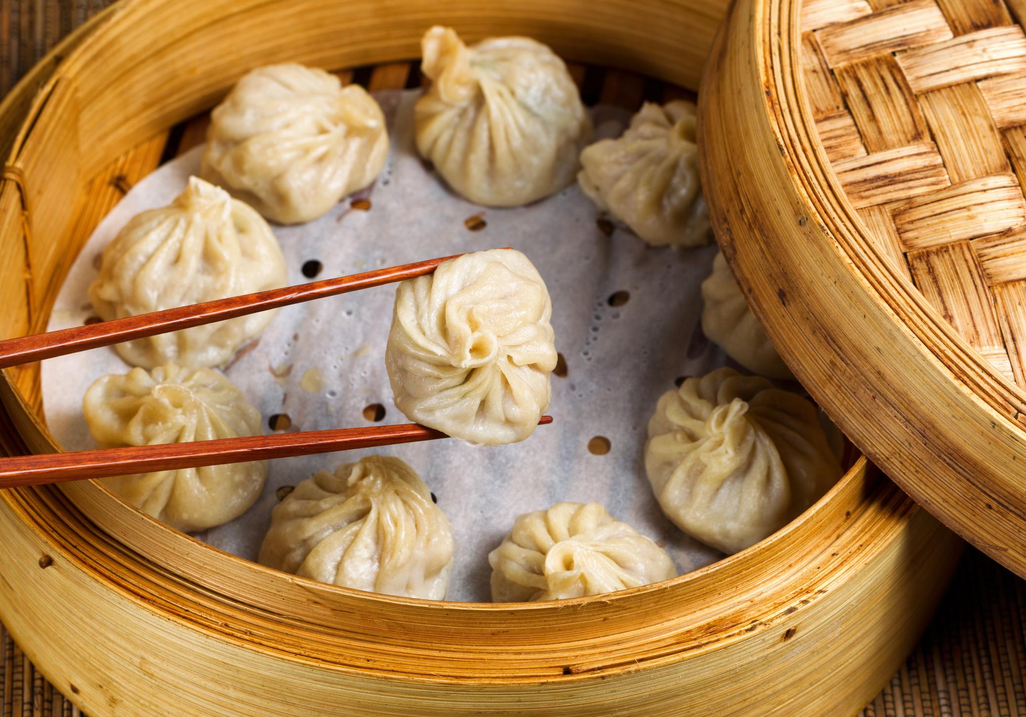 Разные виды пельменей — самая понятная еда для иностранца в Шанхае