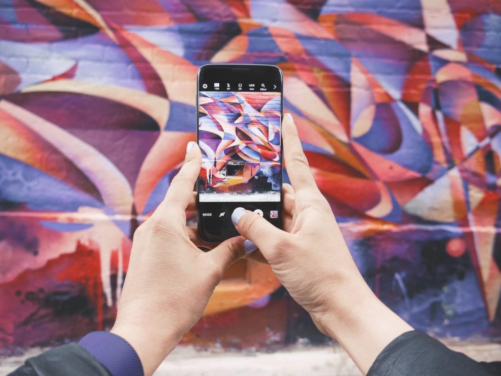 Kensington Market has a number of Instagram-worthy walls.