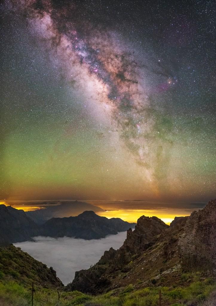 Ο εντυπωσιακός έναστρος ουρανός της Λα Πάλμα