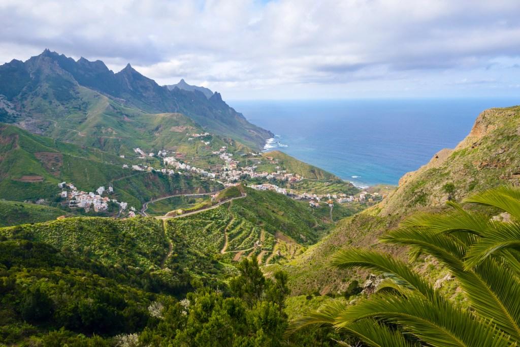 Βουνά Ανάγκα στην Τενερίφη, Κανάρια Νησιά