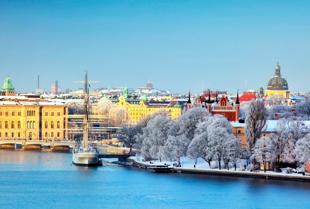 Zima w Sztokholmie