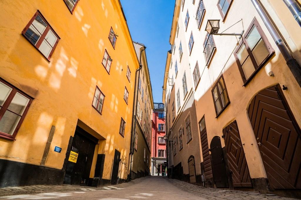 Spacer po Sztokholmie