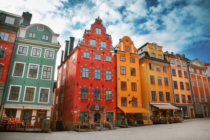 Vieux quartier Gamla Stan à Stockholm