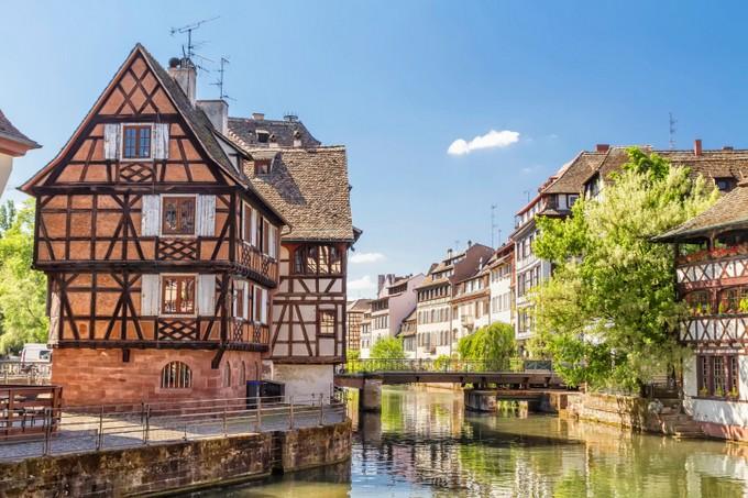 Die schönsten Städte in Frankreich: Strasbourg