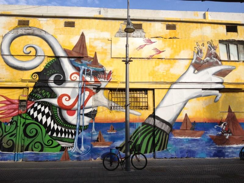 Τέχνη του δρόμου στο Τελ Αβίβ
