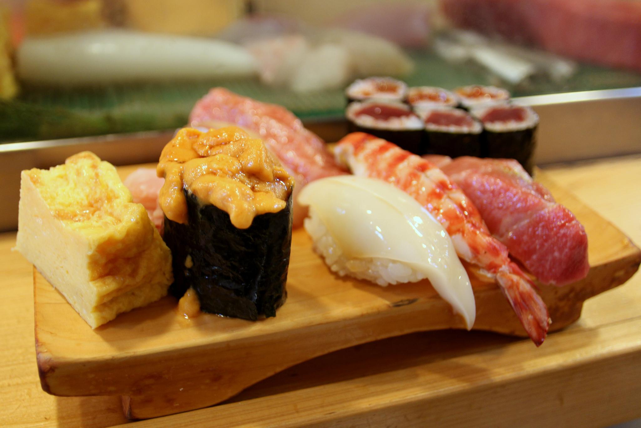 Japan sushi platter