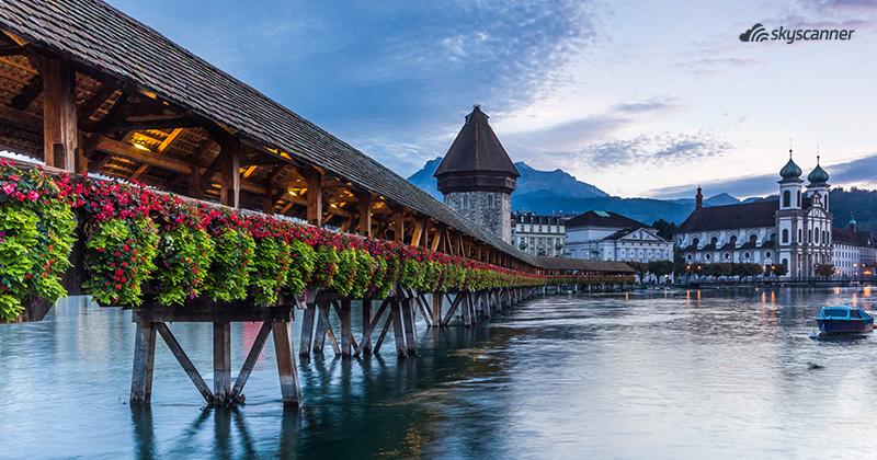 Que ver en Suiza, Lucerna