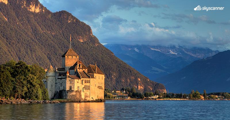 Que ver en Suiza, Castillo de Chillon