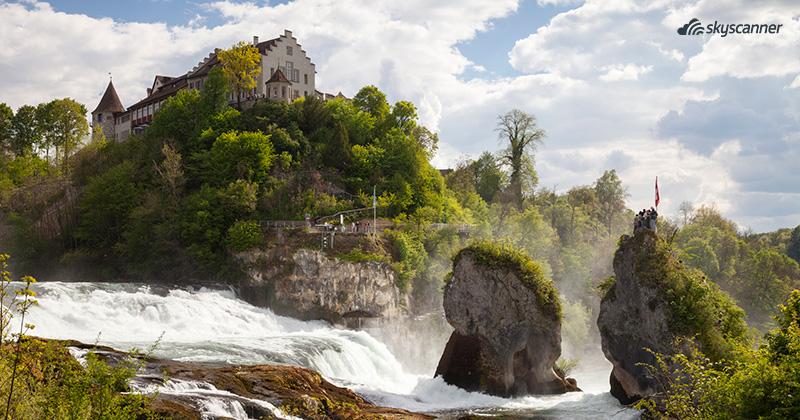 Que ver en Suiza, Cataratas Rin