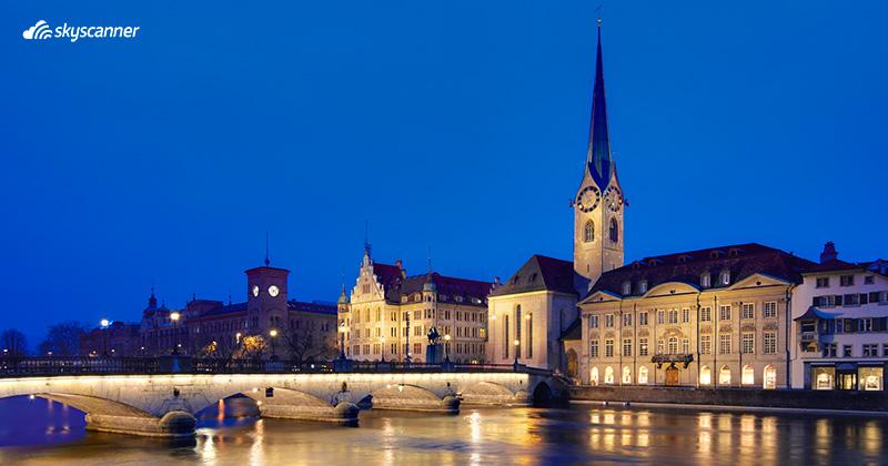 Que ver en Suiza, Zurich