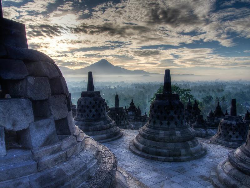 Temple de Borobudur à Yogyakarta