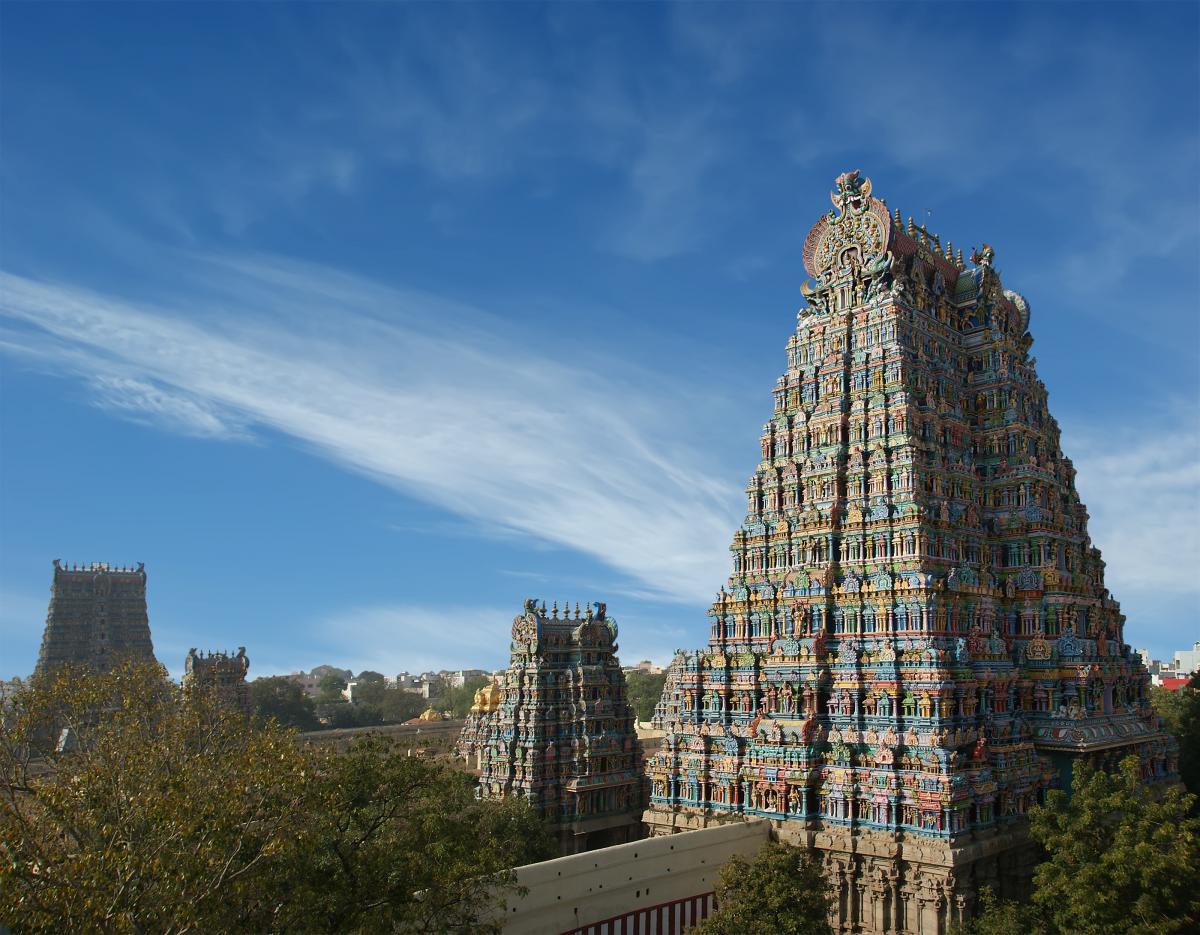 India's Meenakshi Temple