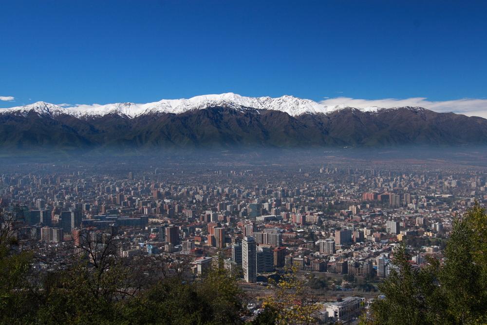 Lentodiilit Etelä-Amerikkaan: Santiago