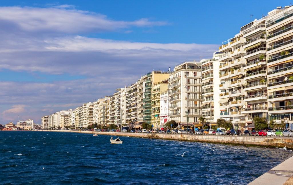 Πολυκατοικίες στον Θερμαϊκό Κόλπο, Θεσσαλονίκη