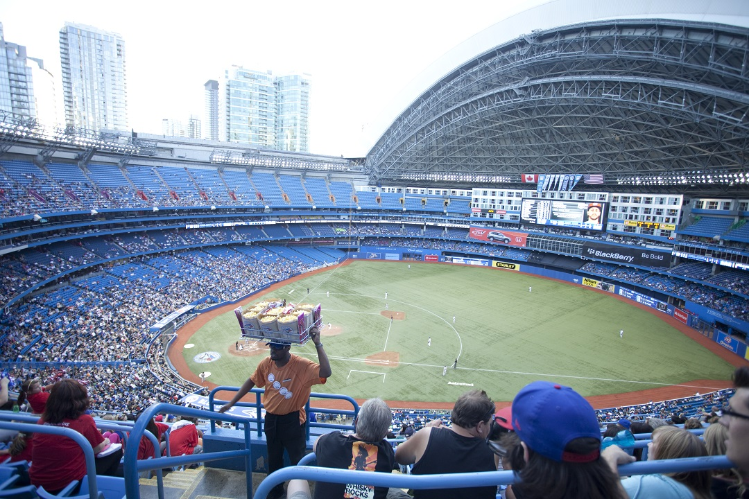 Reasons to Visit Toronto: Blue Jays game at Rogers Centre, downtown Toronto