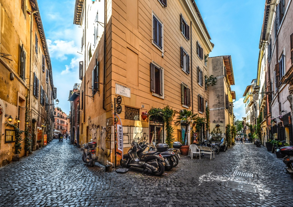 Trastevere: Rome's Beloved Neighbourhod   Skyscanner Canada