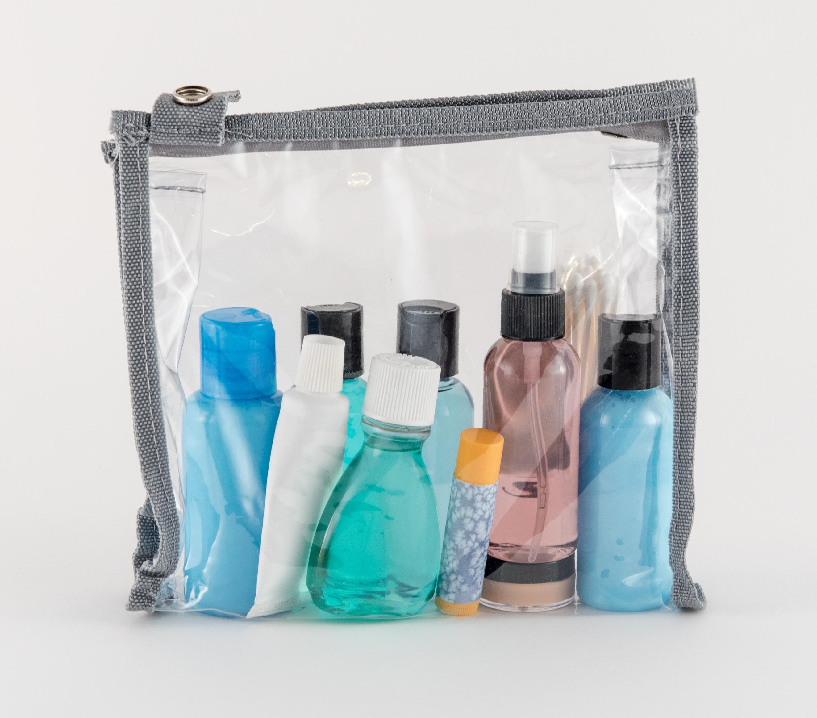richtig Koffer packen: Probepackungen mitnehmen