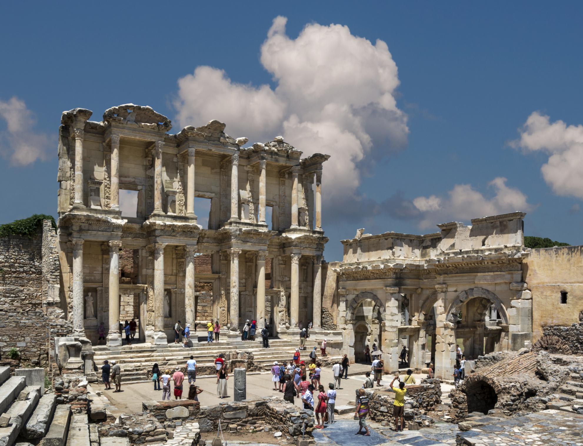 Ephesus near Izmir, Turkey