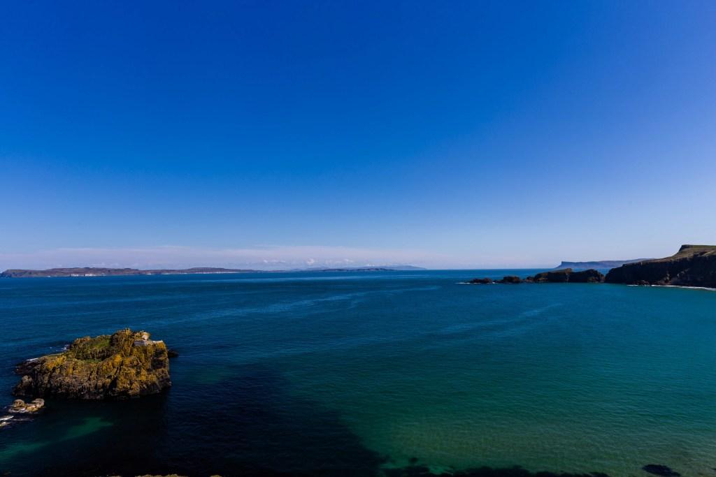 Larrybane sea, Northern Ireland