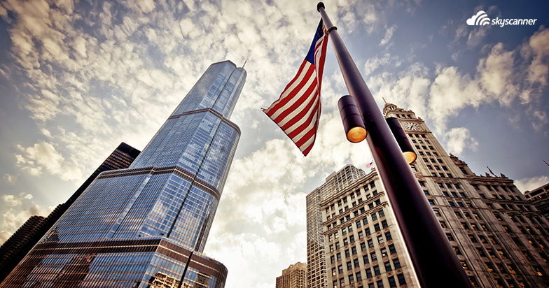 Lentodiilit Suomesta USA:han: Chicago