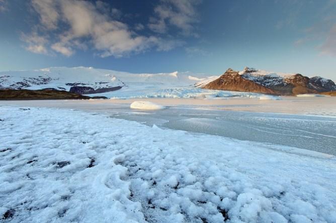 To παγόβουνο Vatnajökull στην Ισλανδία