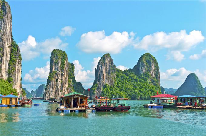 Halong - visto per il Vietnam