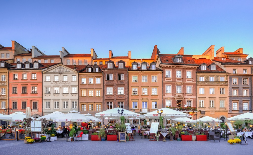Ciudades de Europa que visitar: Varsovia, Polonia