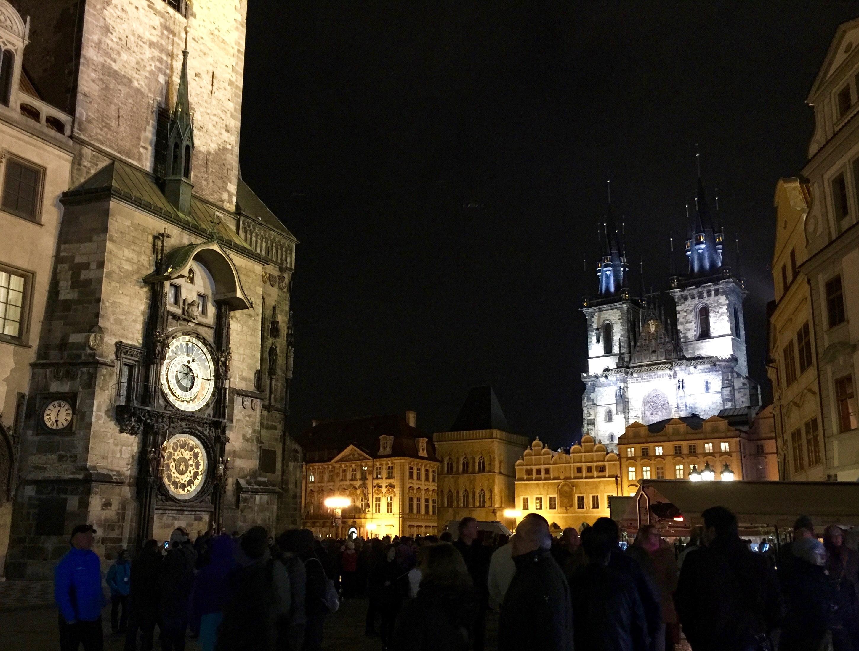 プラハ ティーン教会