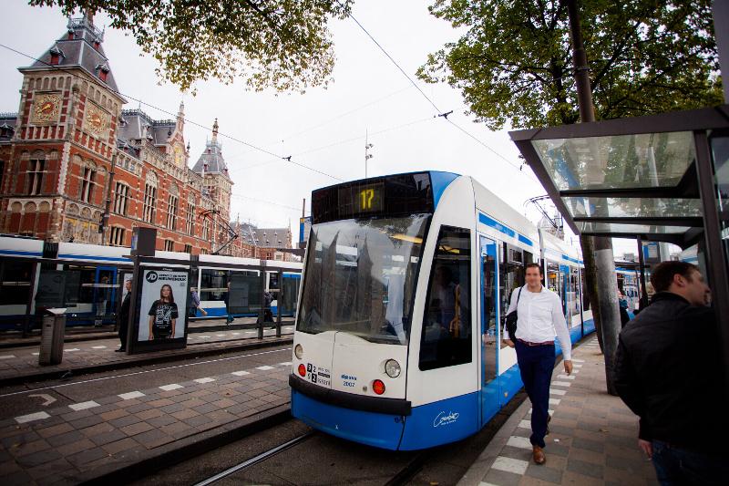 アムステルダムのトラム