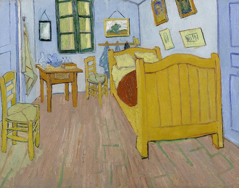 ゴッホの『アルルの寝室』