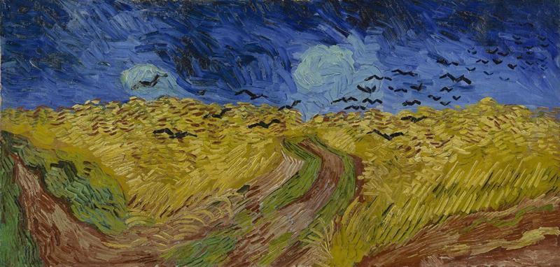 ゴッホの『カラスのいる麦畑』