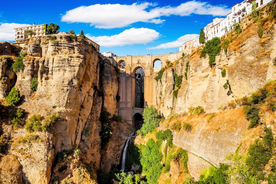Ciudad de Ronda en Málaga