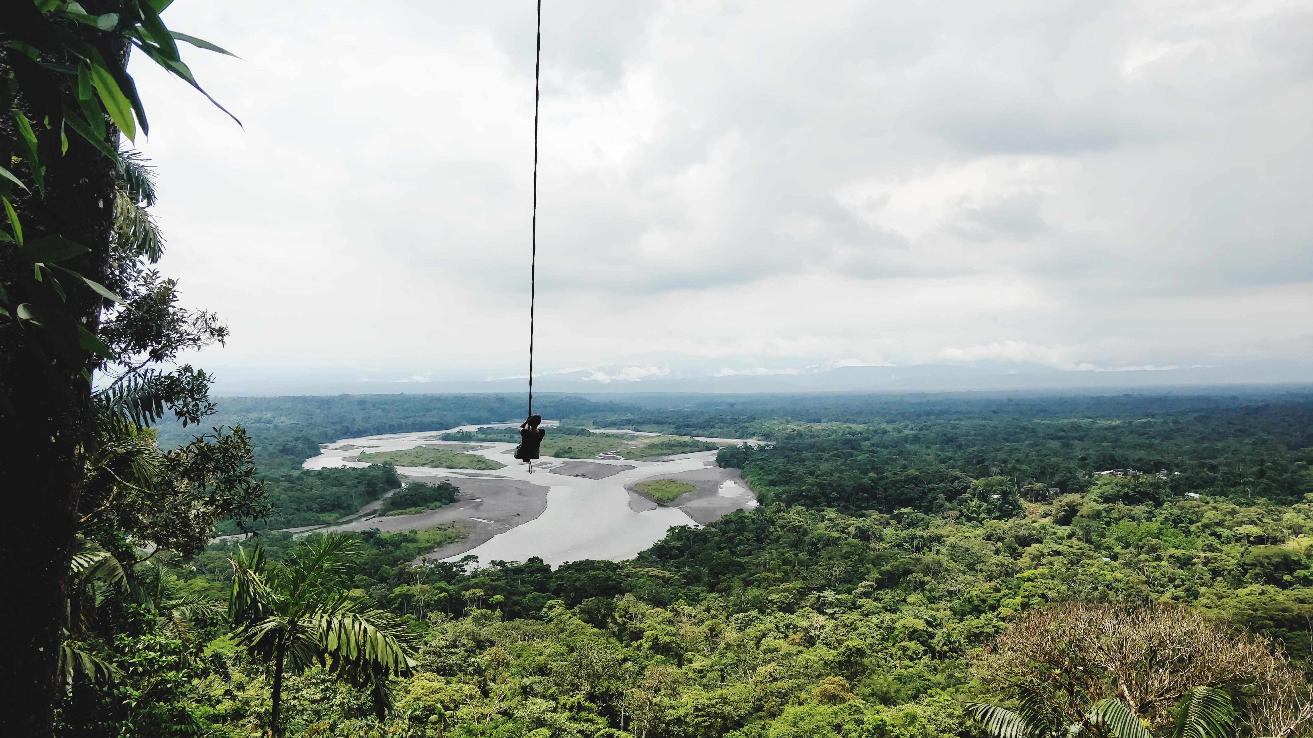 Columpio de Baños, Ecuador