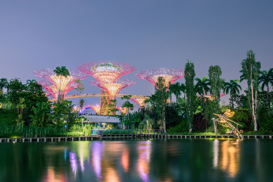 Lugares más instagrameables de Singapur: Gardens by the bay