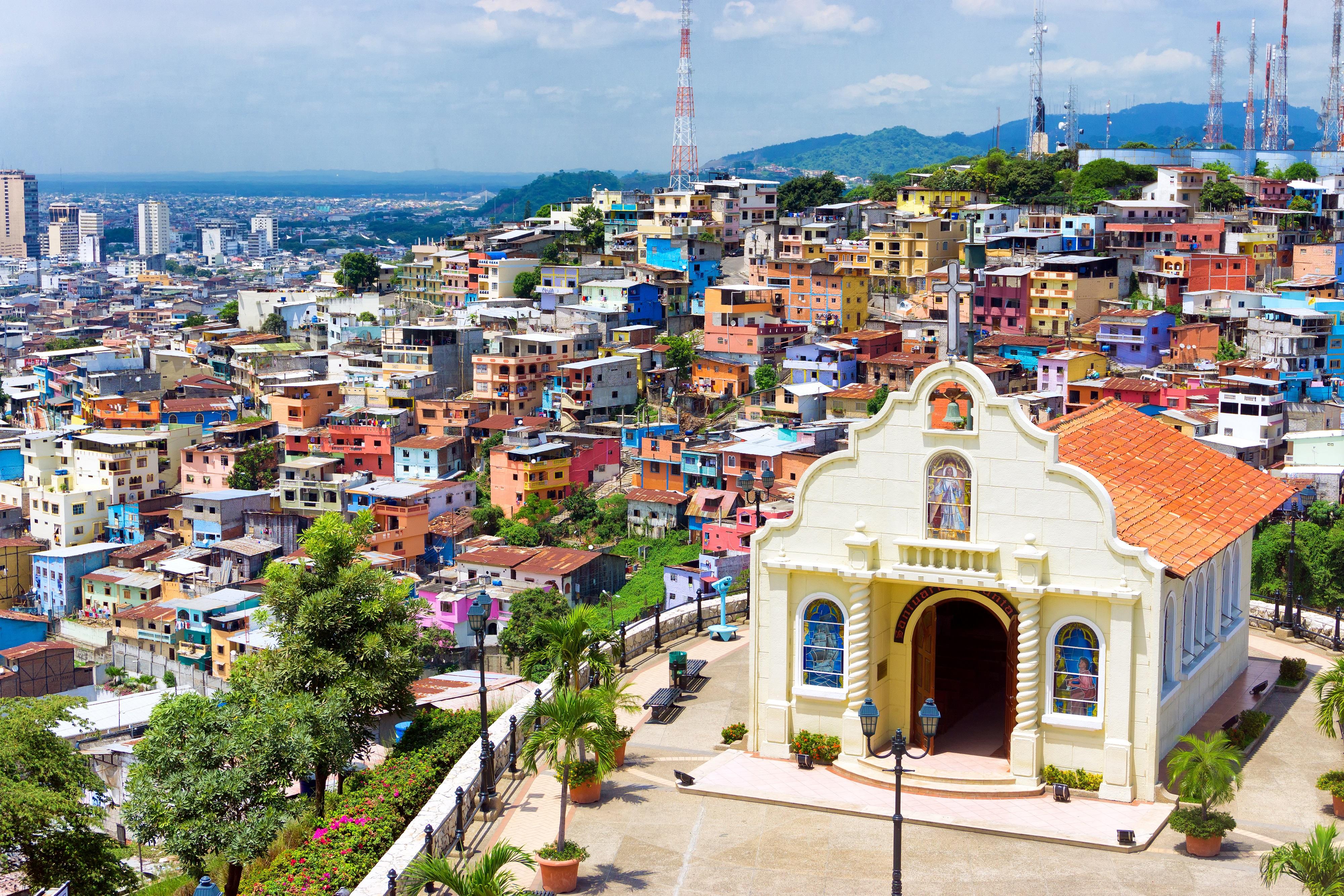 Iglesia en la ciudad de Guayaquil
