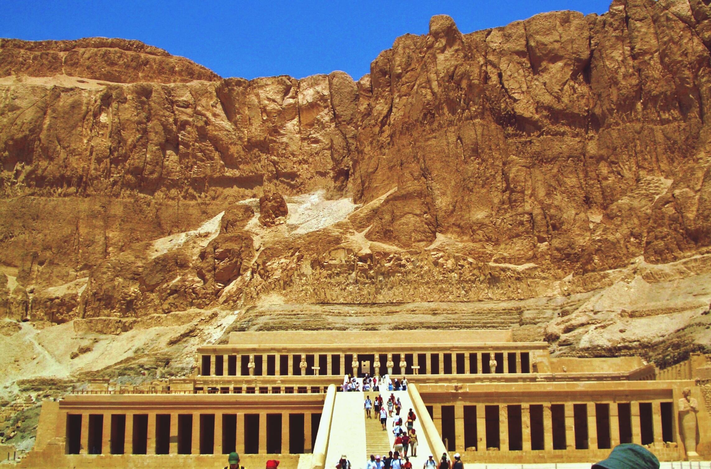 Templo de Hatshepsut en Egipto