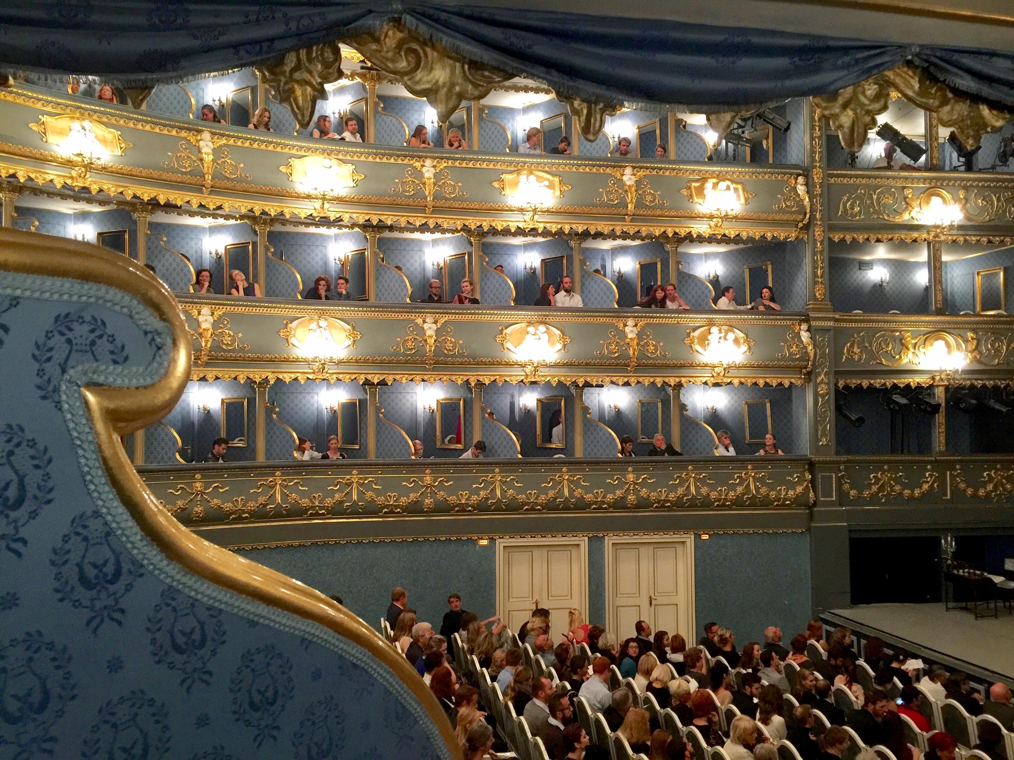 プラハ エステート劇場