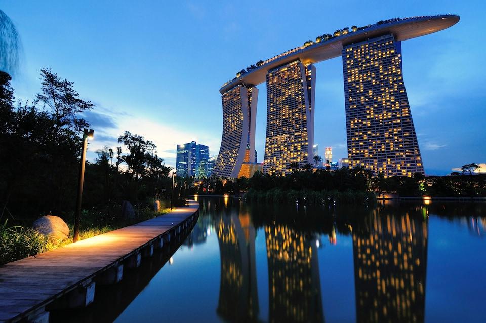 Lugares más instagrameables de Singapur: Marina Bay Sands