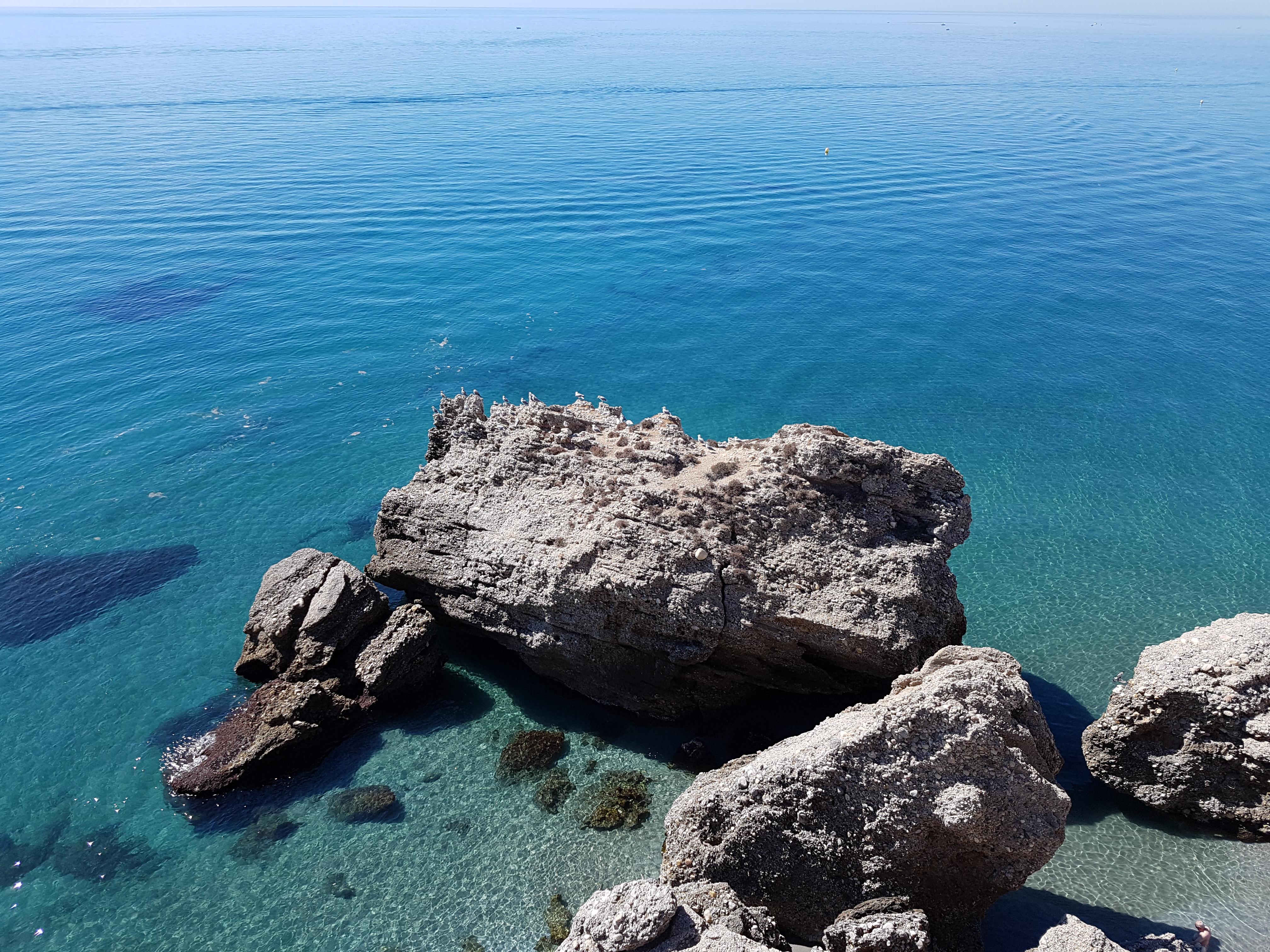 Playa de la Costa del Sol en Málaga